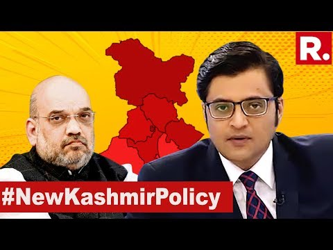 Kashmir Delimitation Possible? | The Debate With Arnab Goswami