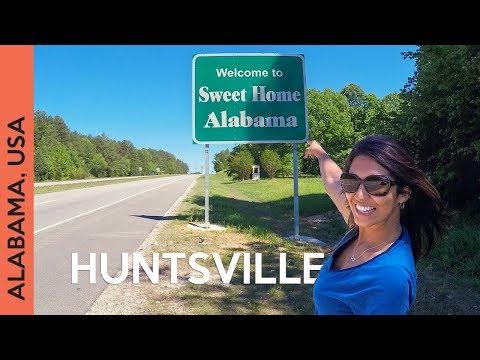 This house was built BACKWARDS!!! Huntsville, ALABAMA | Travel Vlog