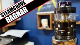 Steam Crave goes all Viking - Steamcrave Ragnar RDTA