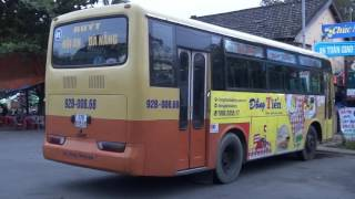 HOW TO BUS FROM HOI AN TO DA NANG AND TO MARBLE MOUNTAIN, VIETNAM