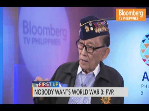 FIRST UP | INTERVIEW WITH FMR. PRESIDENT FIDEL V. RAMOS