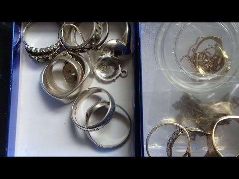 Metal Detecting  Diamond Ring! Silver Quarter & Silver Dime; Young Queen Elizabeth