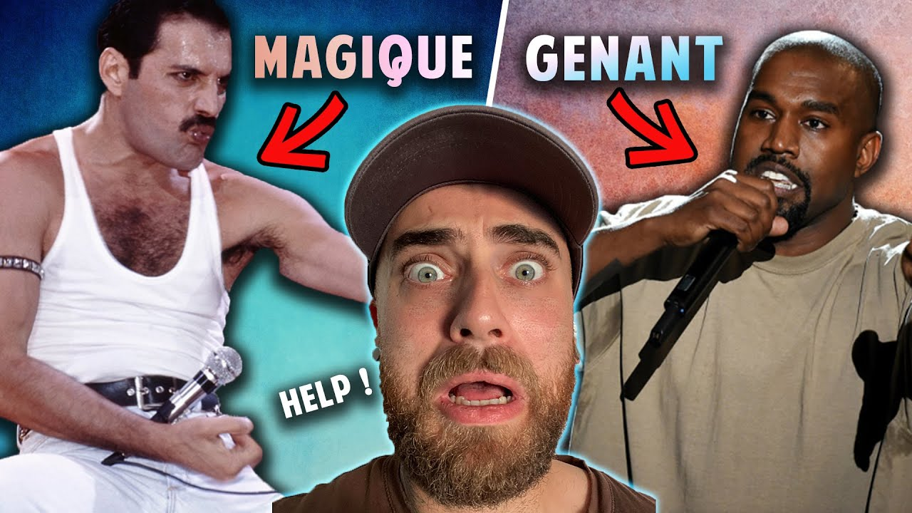 J'ANALYSE LES MOMENTS GÊNANTS DE MUSICIENS ET STARS !