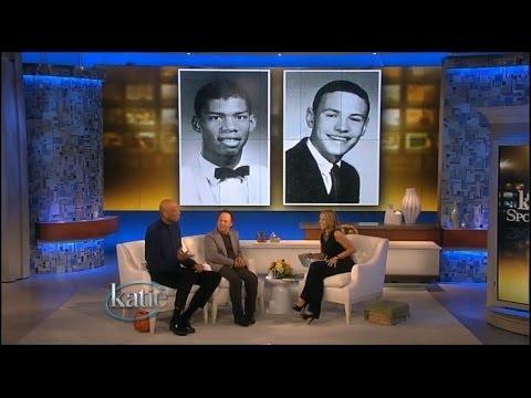Billy Crystal Gets a Huge Surprise - Kareem Abdul-Jabbar! -- Katie Couric