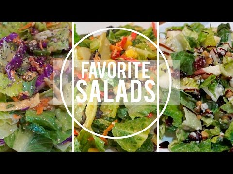 The Best Salads You Will Ever Eat!