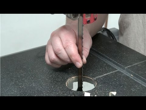 How to change a bandsaw blade youtube how to change a bandsaw blade greentooth Images