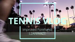 Tennis Vlog #8: Improved Forehand