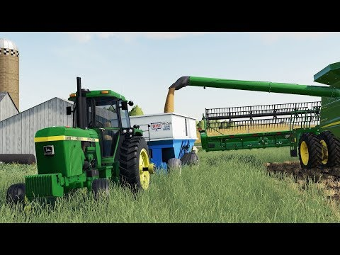 FS19- I LOVE THIS SERIES! HARVEST IN WISCONSIN, USA thumbnail