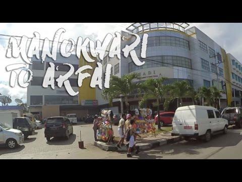 Manokwari to Arfai (Street View)
