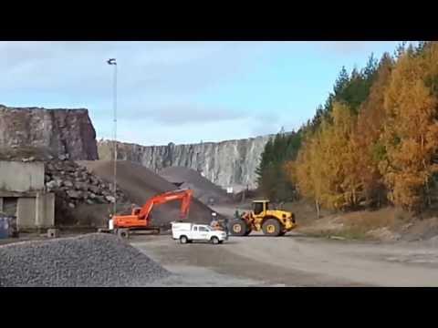 Bergsprängning - Rock Blasting in Sweden