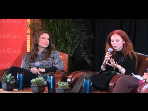 TimesTalks at Sundance 2013: Robin Weigert & Juno Temple    TimesTalks
