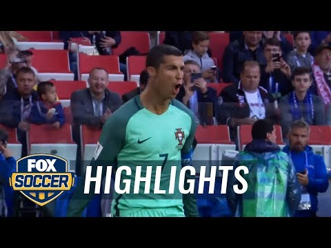 Cristiano Ronaldo scores early for Portugal vs. Russia | 2017 FIFA Confederations Cup Highlights