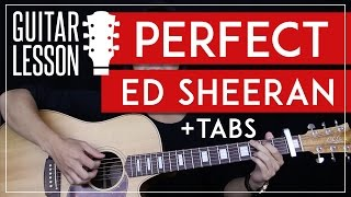 Perfect Guitar Tutorial - Ed Sheeran Guitar Lesson 🎸 |Solo + Fingerpicking + Chords + Guitar Cover|