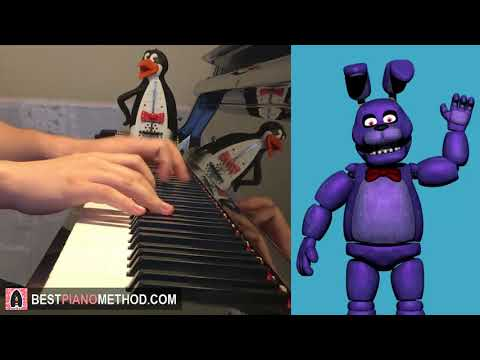 FNAF Song - Bonnie Need This Feeling - Ben Schuller (Piano Cover by Amosdoll)