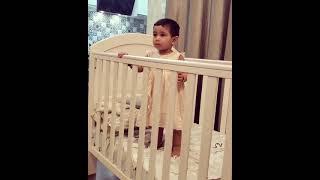 Raja Rani Actress Alya manasa cute baby Aila Baby video