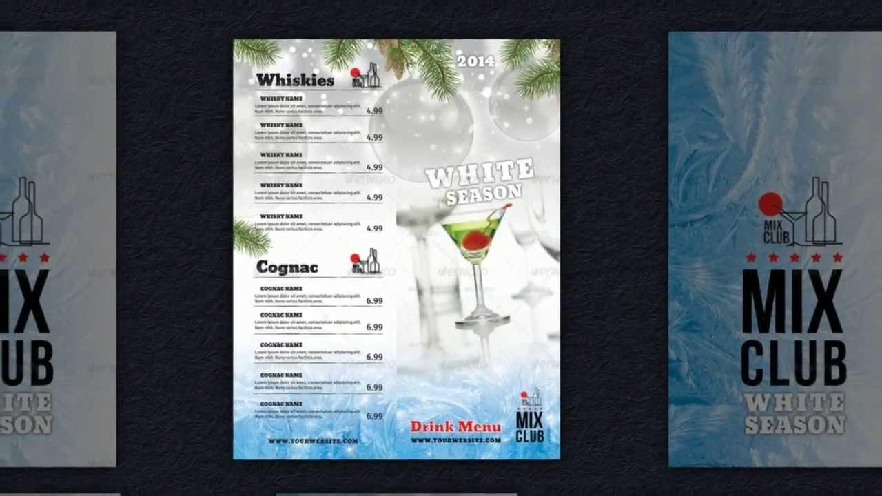Cocktailkarten Vorlagen  Getrnkekarten erstellen  So