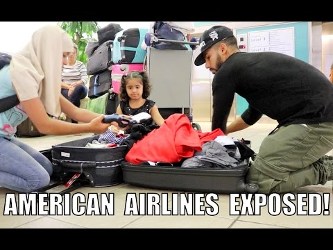 AMERICAN AIRLINES EXPOSED!! (BROKE MY LUGGAGE)