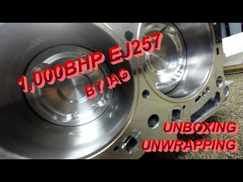 1,000BHP IAG Subaru Motor: Unboxing and Unwrapping
