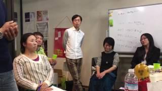 2016.12.08 家入一真さん講演とクラウドファンディングを振り返る会にて...