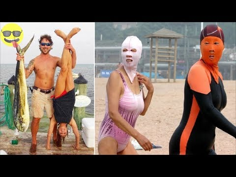 Right Moment Beach Pics l  Funny Fail Compilation