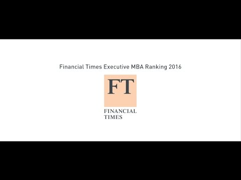 ESCP Europe Executive MBA Financial Times ranking celebration