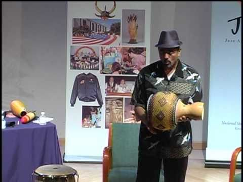 Latin Jazz Percussion Workshop with John Santos at the National Museum of American History