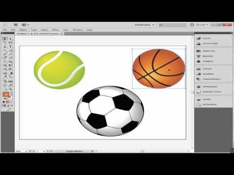 How to create groups in adobe illustrator