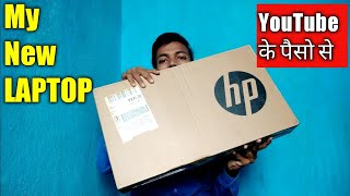 My new LAPTOP from Youtube money | Best Laptop for Youtubers