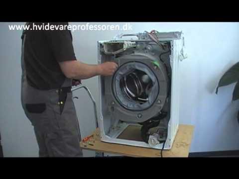 skifte lejer i vaskemaskine