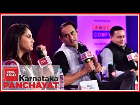 The IT Way To Win | Divya Spandana Vs Amit Malviya Over Cambridge Analytica | Karnataka Panchayat