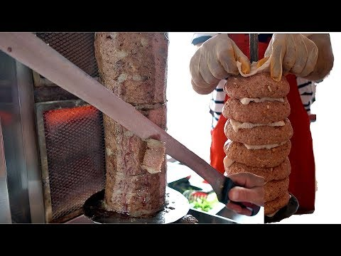 Doner Kebap Mere Ground Beef Simple Minced Doner