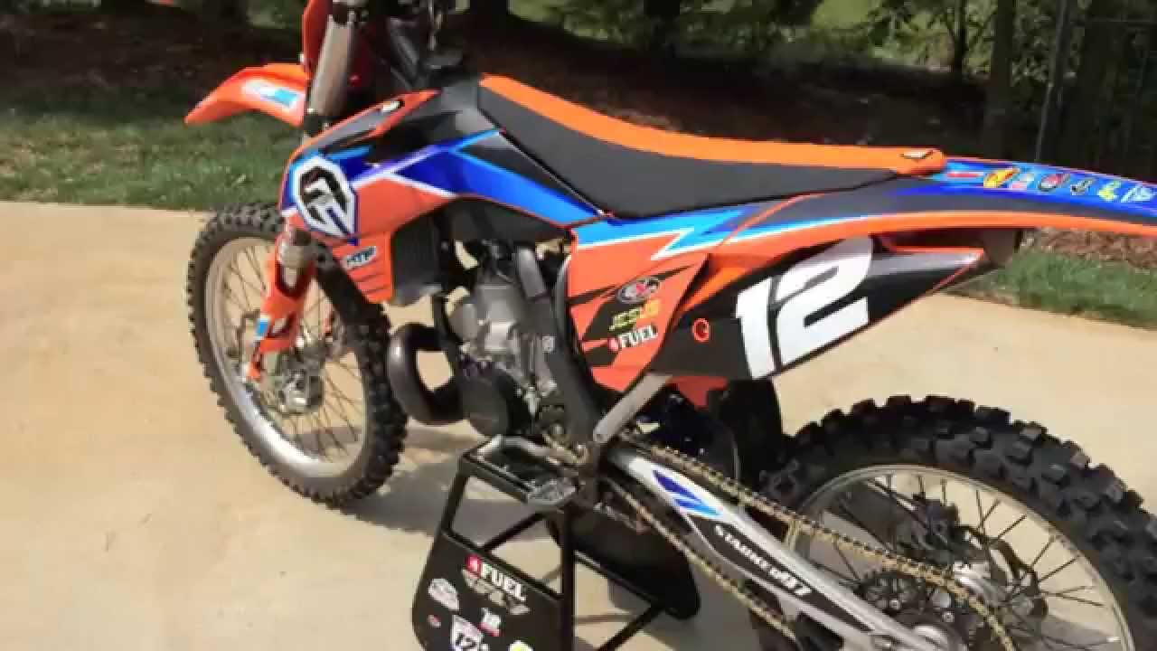 2013 Ktm 250sx New Graphics Youtube