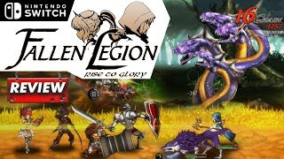 Fallen Legion Rise to Glory: REVIEW (Aggressive Negotiations) (Video Game Video Review)