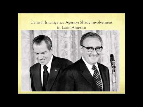 CIA Transnational Intervention in the 1973 Chilean Coup