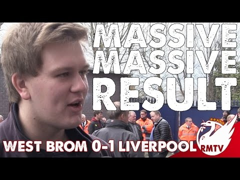 West Brom v Liverpool 0-1 | Massive, Massive Result in The Race for Top 4 |  #LFC Fan Cam @AnfieldHQ