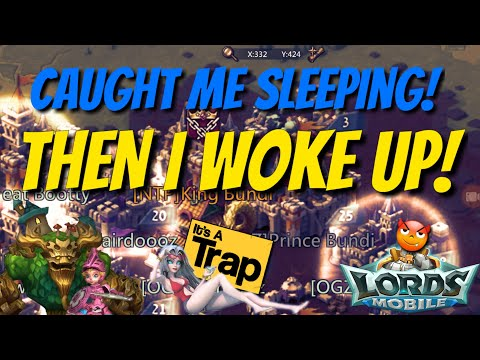 The Trap Caught Sleeping! - Lords Mobile