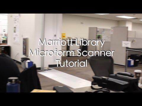 Microfiche Scanner Tutorial