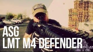 ASG LMT M4 Defender RIS CQB Airsoft Rifle - AirSplat On Demand