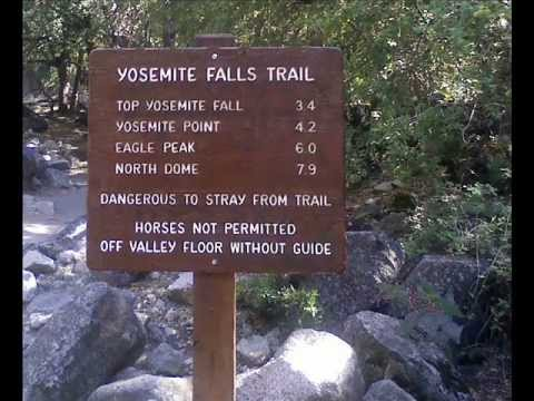 Yosemite Falls Trail 7 Miles In Under 4 Minutes Youtube