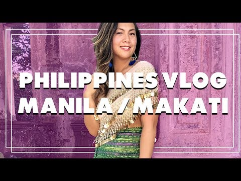 🇵🇭 Philippines Travel Vlog - HERE'S WHAT I DID IN MANILA!