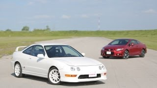 2013 Honda Civic Si vs 1998 Acura Integra Type R