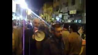 مسيرة الحركة الإسلامية ـ تكبيرات العيد ليلة عيد الأضحى 25 تشرين أول 2012م جرش نصر العتوم 2