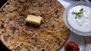 mullangi paratha in kannada - mooli paratha - muli paratha - radish paratha recipe