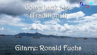 Come back Liza (Traditional) für Gitarre