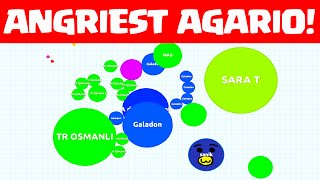 AGARIO - The Angriest Player Ever? - ME!
