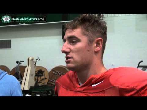 Michigan State QB Connor Cook previews Nebraska