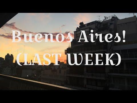 Exchange in Buenos Aires #4 (Last week!)