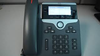 Cisco VoIP: How To Answer A Call