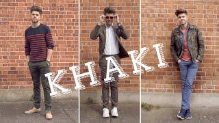 Mens Style - How to Wear Khaki