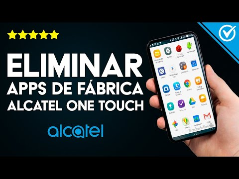 Cómo Eliminar o Desinstalar las Aplicaciones de Fábrica u Originales de Celular Alcatel One Touch